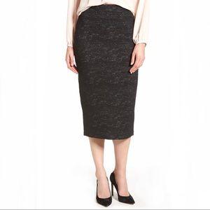 Halogen Jacquard Pencil Skirt